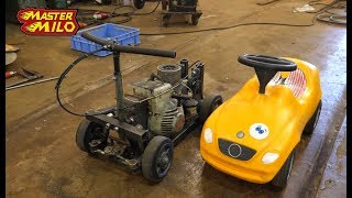 Download Chainsaw powered toy car Video