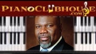 Download ♫ How to play ″HIGH IN ALL THE EARTH″ by TD Jakes & Potters House Choir (piano tutorial lesson) Video