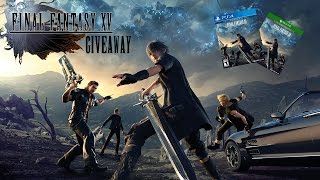 Download Final Fantasy XV Giveaway by None Other Than Talos! (Trailer Livestream Announcement) Video