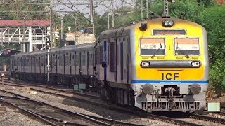 Download PUNE - SOLAPUR DEMU Departing From Hadapsar : INDIAN RAILWAYS Video