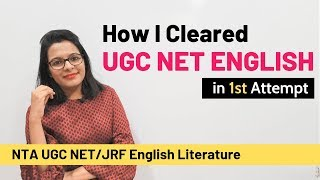 Download How I cleared UGC NET English in 1st Attempt Video