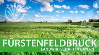 Download Landwirtschaft in Bayern: Landkreis Fürstenfeldbruck in Oberbayern Video