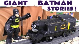 Download Batman Stop Motion Toys Stories with Thomas and Friends Superman Joker Cars Fun Compilation TT4U Video