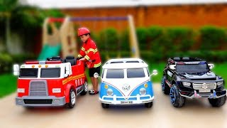 Download 직업체험 놀이 해봐요! 예준이의 자동차 장난감 놀이 Profession Pretend Play Toy for Kids Video