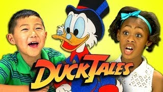 Download KIDS REACT TO DUCKTALES Video