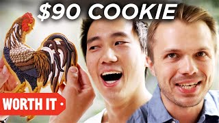 Download $1 Cookie Vs. $90 Cookie Video