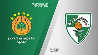 Download Panathinaikos Athens - Zalgiris Kaunas Highlights | Turkish Airlines EuroLeague, RS Round 20 Video