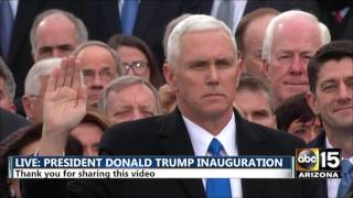 Download FULL: Vice President Mike Pence being sworn in - President Donald Trump inauguration Video