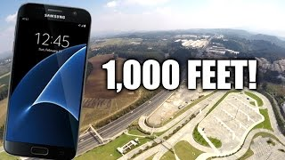 Download Samsung Galaxy S7 Drop Test FROM 1,000 FEET! Video
