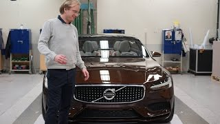 Download Checking out Volvo Cars protype manufacturing with the concept in FULL CARBON FIBRE Video
