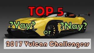 Download Asphalt 8 Multiplayer - TOP 5 2017 CARS THAT NEVER BECAME VULCAN KILLERS Video