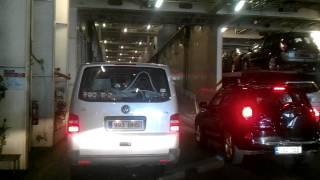 Download Vehicles boarding Helsinki-Tallinn cruise ferry operated by Tallink Silja Line, M/S Star Video