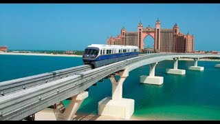 Download DUBAI MONORAIL Ride | DRIVERLESS Train!! | The Best View of PALM ISLAND 🏝 🔥🔥🔥 Video