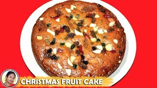 Download Christmas Cake Recipe - Fruit Cake Recipe In Pressure Cooker Without Egg Without Oven - Plum Cake Video
