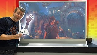 Download Gaming on the CLEAR TV Prototype! Video