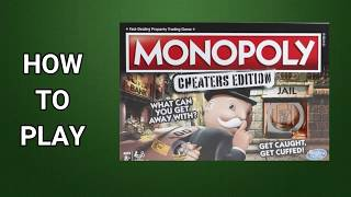 Download How To Play Monopoly Cheaters Edition Board Game by Hasbro Video
