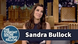 Download Sandra Bullock's Son Picked Her Out a Slutty Batgirl Halloween Costume Video