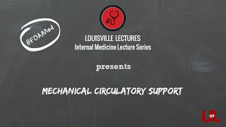 Download Mechanical Circulatory Support: IABP, VADs & ECMO with Dr. Brown Video