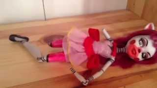 Download Custom monster high Fnaf Mangle doll Video