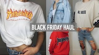 Download TRY-ON BLACK FRIDAY HAUL 2016!! (PacSun, Topshop, Urban Outfitters, + more!)| Mel Joy Video