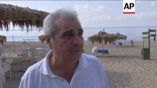 Download Fears Lebanon's last public beach could be privatised Video
