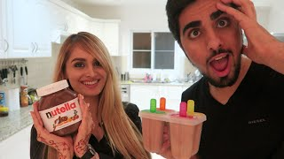 Download *Delicious* NUTELLA POPSICLE STICKS !!! Video
