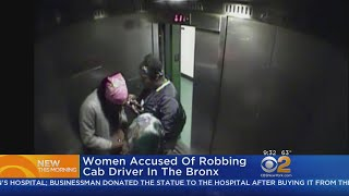 Download Woman Accused Of Robbing Cab Driver In The Bronx Video