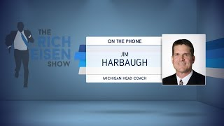 Download Michigan Head Coach Jim Harbaugh Dials in to The Rich Eisen Show   Full Interview   9/25/17 Video
