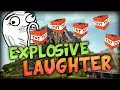 Download Explosive Laugh in TNT Wars w/ Nooch, Vikk, Woof and TheCampingRusher Video