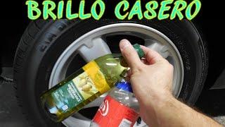 Download Probando abrillantadores caseros para llantas (aceite de oliva y coca cola) Video