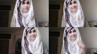 Download Everyday Simple Hijab Tutorial for School and College Students || Noshin Nower ❤ Video