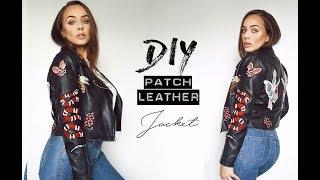 Download DIY Patch Leather Jacket | Tijana Arsenijevic Video