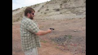 Download Glock 23 vs 23C recoil test Video