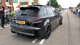 Download Audi RS3 Sportback 8V w/ Decatted Armytrix Exhaust System! Video