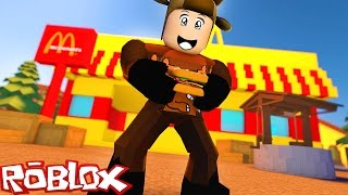 Download BUILDING MY OWN MCDONALDS FACTORY IN ROBLOX! (Roblox McDonalds Factory) Video