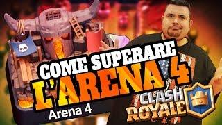 Download Clash Royale: il Deck per Superare l'arena 4. Video