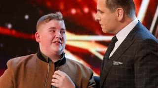 Download David Williams Gets SHAMED Into Hitting the Golden Buzzer! | Auditions 6 | Britain's Got Talent 2017 Video