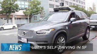 Download Uber's self-driving cars start picking up riders in San Francisco Video
