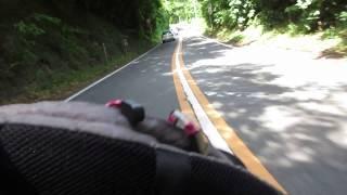 Download 梅雨の晴れ間の土曜日清水側から日本平にホンダCB1100で上って見た。 Video