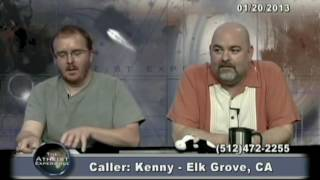 Download Matt Dillahunty - Idiot claims he can proof the young earth theory - Atheist Experience Video