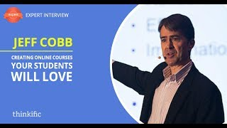 Download How to Create Online Courses Students Will Love (eLearning Best Practices) | Jeff Cobb Interview Video