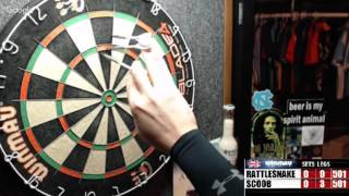 Download Rattlesnake vs Scoob -WDA Darts Video