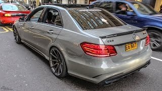 Download Mercedes E63 AMG w/Straight Pipes Decat Exhaust - Accelerations & Revs Video