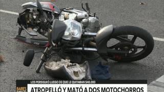 Download Atropelló y mató a dos motochorros que le habían robado – Telefe Noticias Video