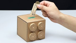 Download Wow! Amazing Safe Box 4 Digit Password DIY from Cardboard Video