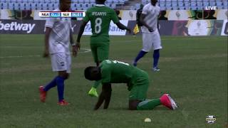 Download Nigeria vs. Sierra Leone [FIRST HALF] (2017 WAFU Cup Qualifier) Video