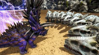 Download INDOMINUS REX Vs JUGGERNAUGHT 32 In ARK!! - ARK Survival Evolved Video