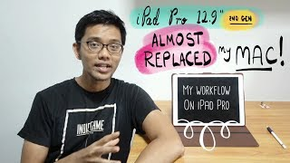 Download iPad Pro 12.9″ 2nd gen almost replaced my Mac! Here's my workflow Video