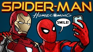 Download Spider-Man: Homecoming Trailer Spoof - TOON SANDWICH Video