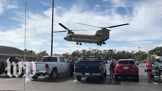 Download Army airlifts food to Wilmington, N.C. Video